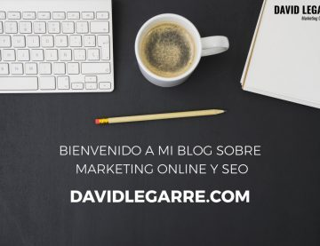 ¡Bienvenido a mi blog sobre Marketing Online y SEO!